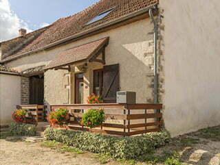 Le gîte « La Bergère » à Cussy-le-Châtel