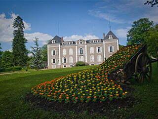 Le château de Coutivert.