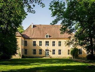 Le château de Voudenay.