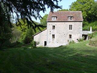 Le gîte « Le Moulin de la Louve » à Saint-Martin-de-la-Mer.