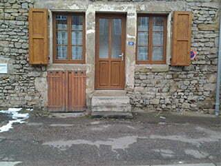 Le gîte Pacaut à Arnay-le-Duc.