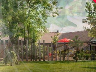 Le domaine des Prés verts à Jouey.